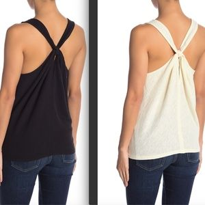 TWO Madewell Everly Twisted Racerback Tank Tops